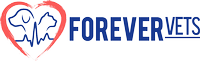 Forever Vets Animal Hospital -Baymeadows,Tinseltown, Murabella/St. Augustine, Race track, and Beach Logo
